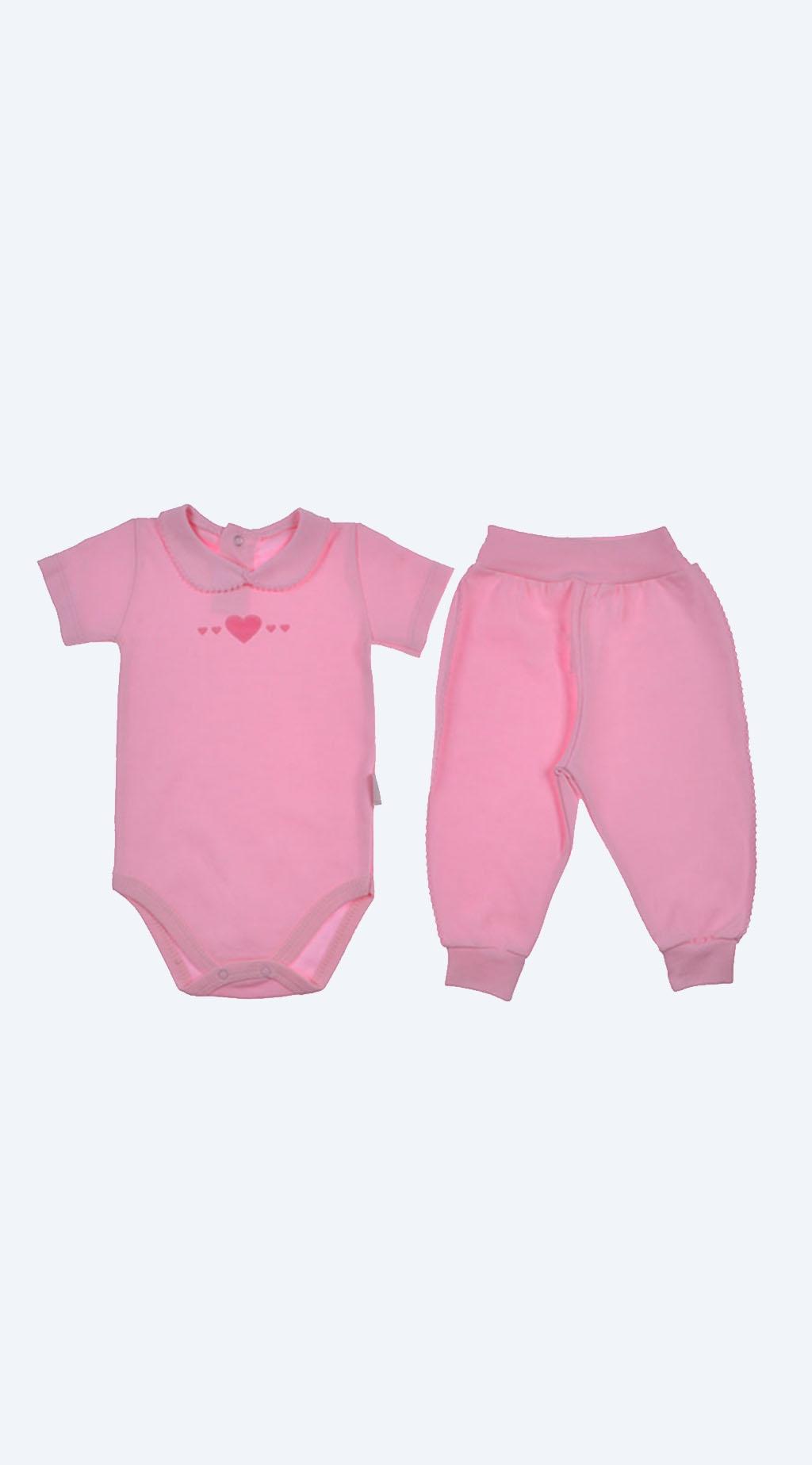 Set short sleeve baby girl