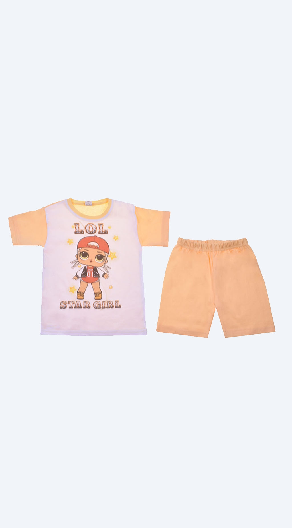 Pajama short sleeve girl