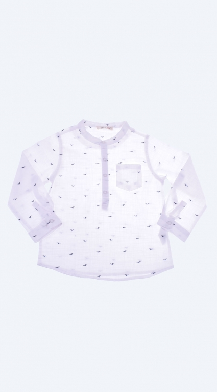 Long sleeve boy shirt