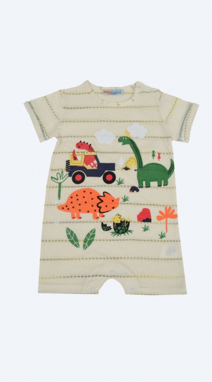 Jumpsuit short sleeve boy