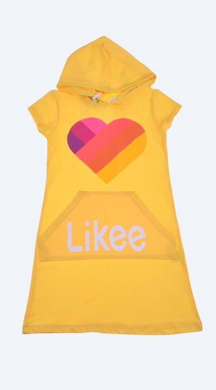 Tik tok like short sleeve dress