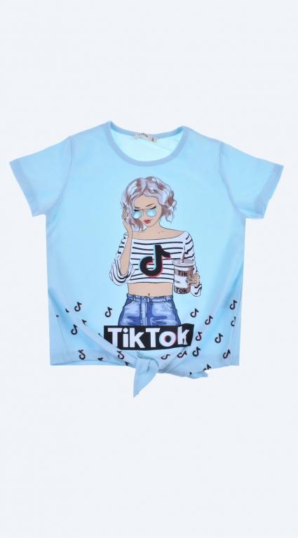 Тениска момиче - Tik-Tok