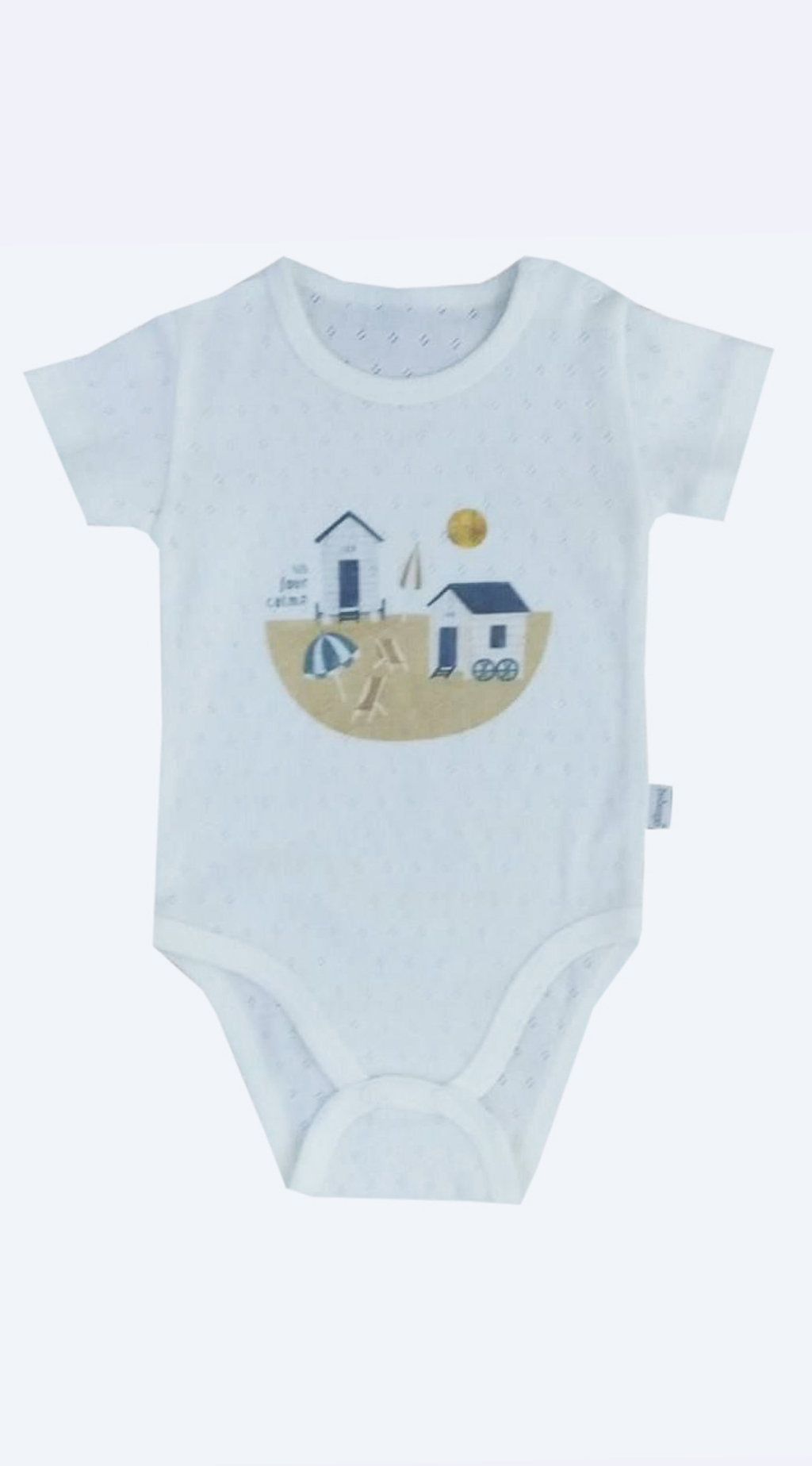 Baby boy short sleeve body