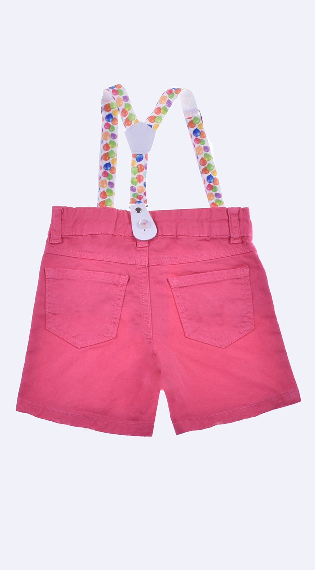 Girl shorts with suspenders