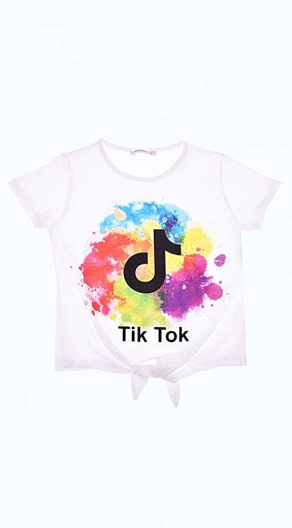T-shirt girl tik tok