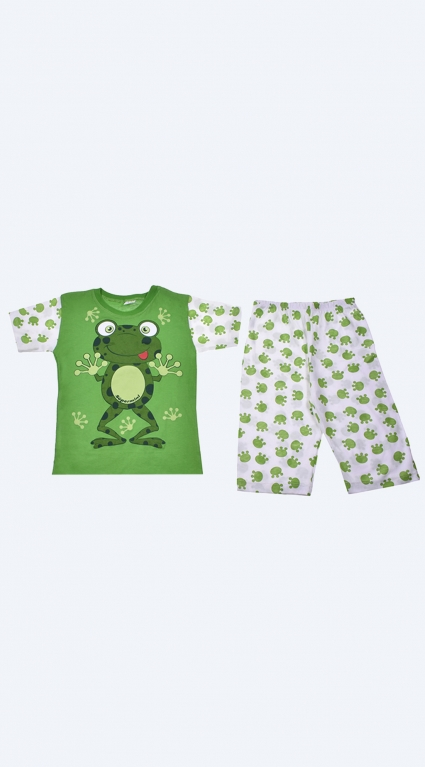 Pajama short sleeve boy