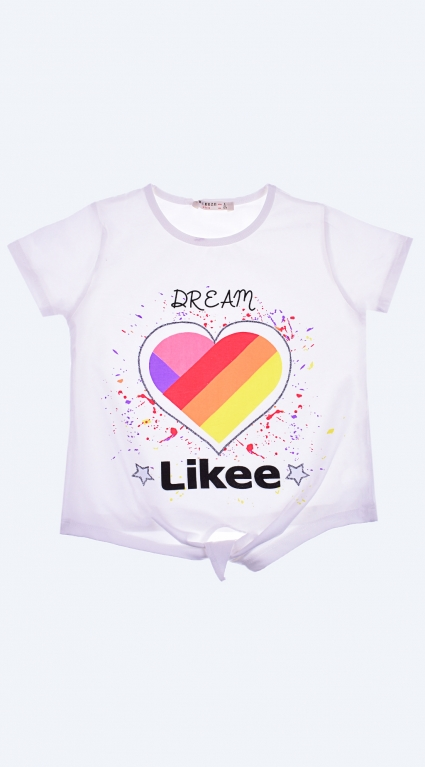T-shirt girl tik tok like