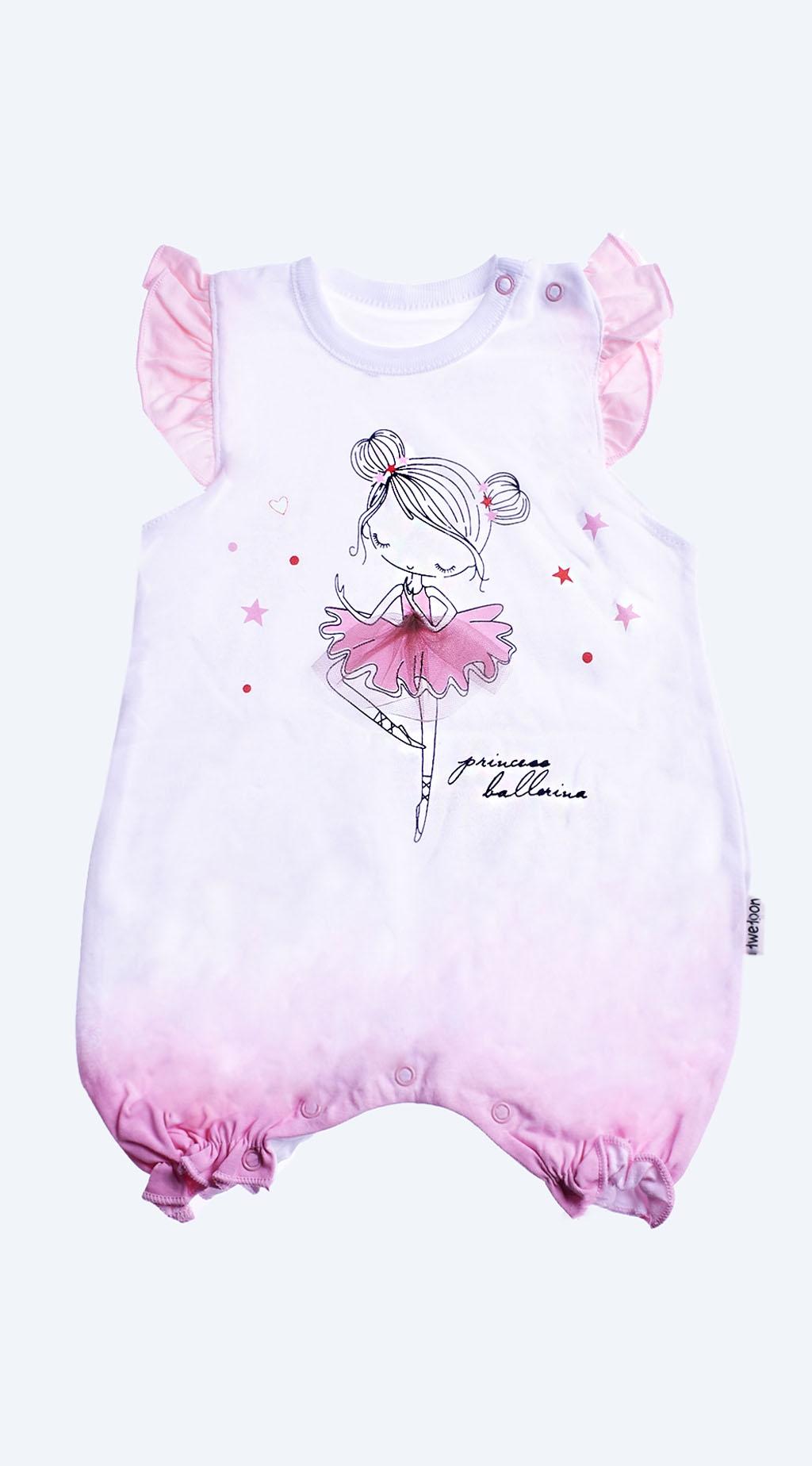 Overalls short sleeve girl baby girl