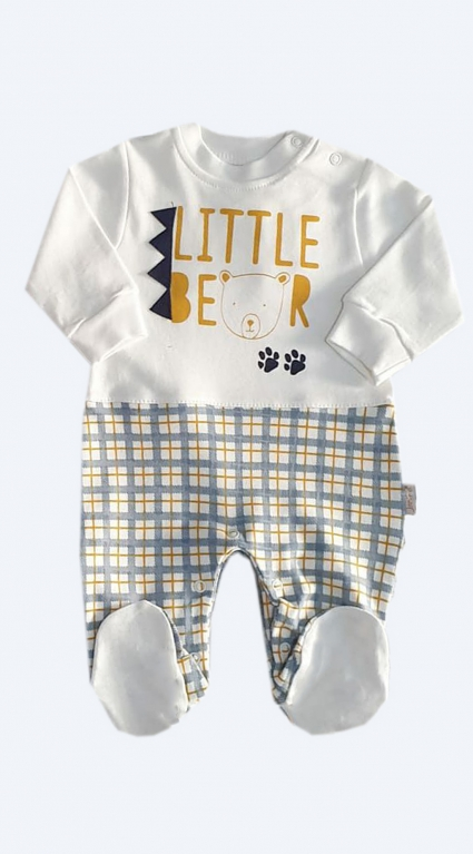 Overalls long sleeve for a boy baby boy