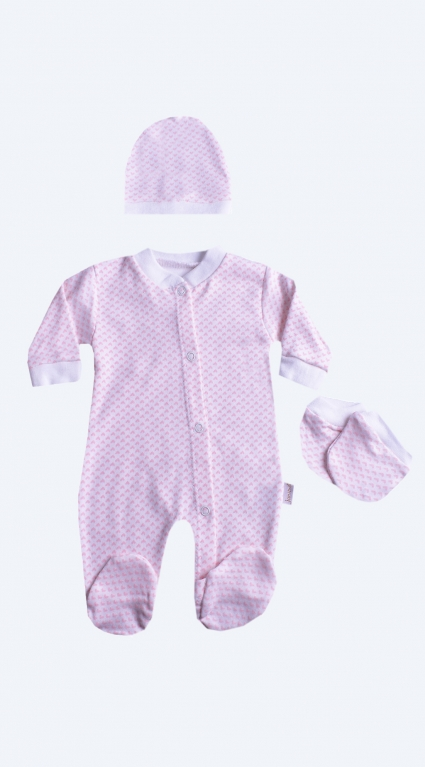 Long sleeve overalls for baby girl