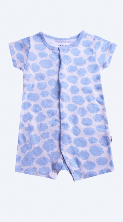 Overalls short sleeve boy baby boy