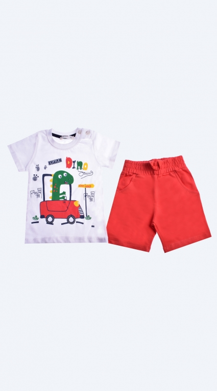 Set short sleeve boy