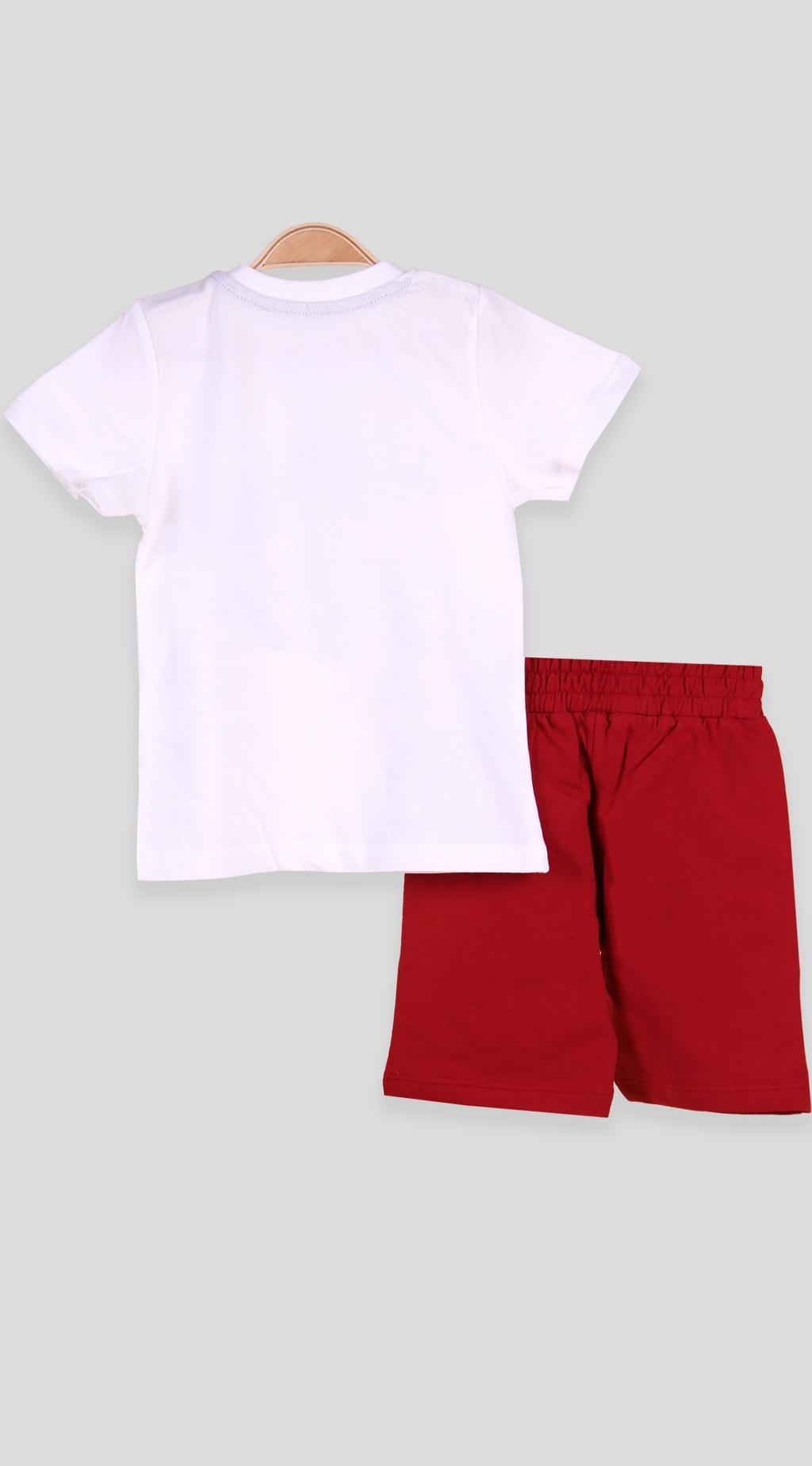 Set short sleeve boy