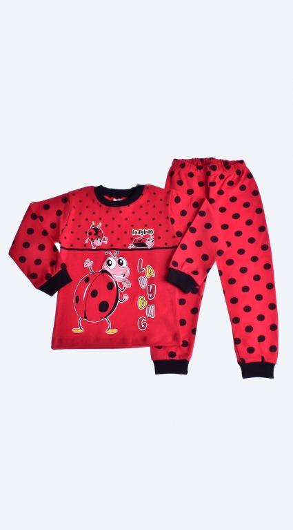 Long-sleeved girl pajamas