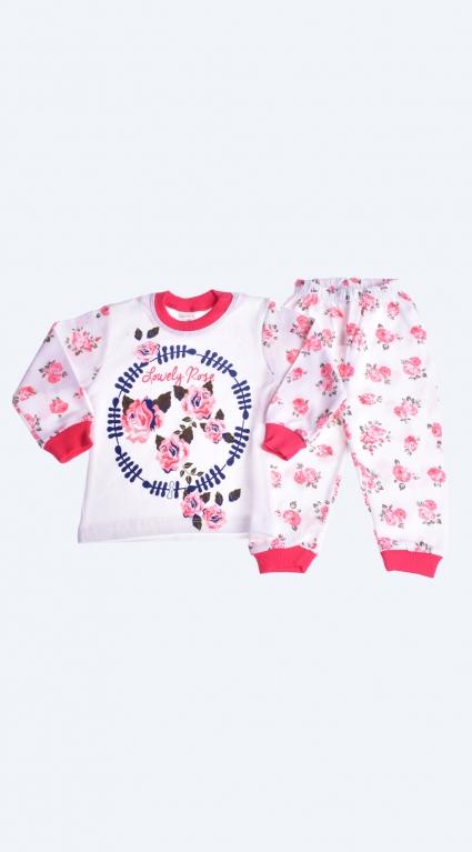 Long sleeve girl pajamas