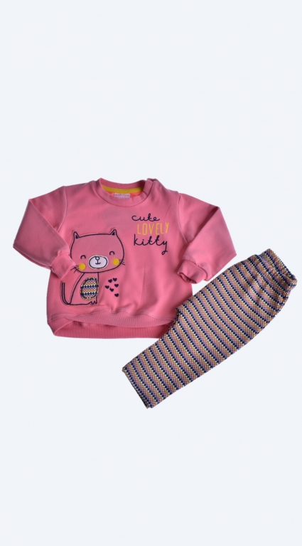 Girl long sleeve set
