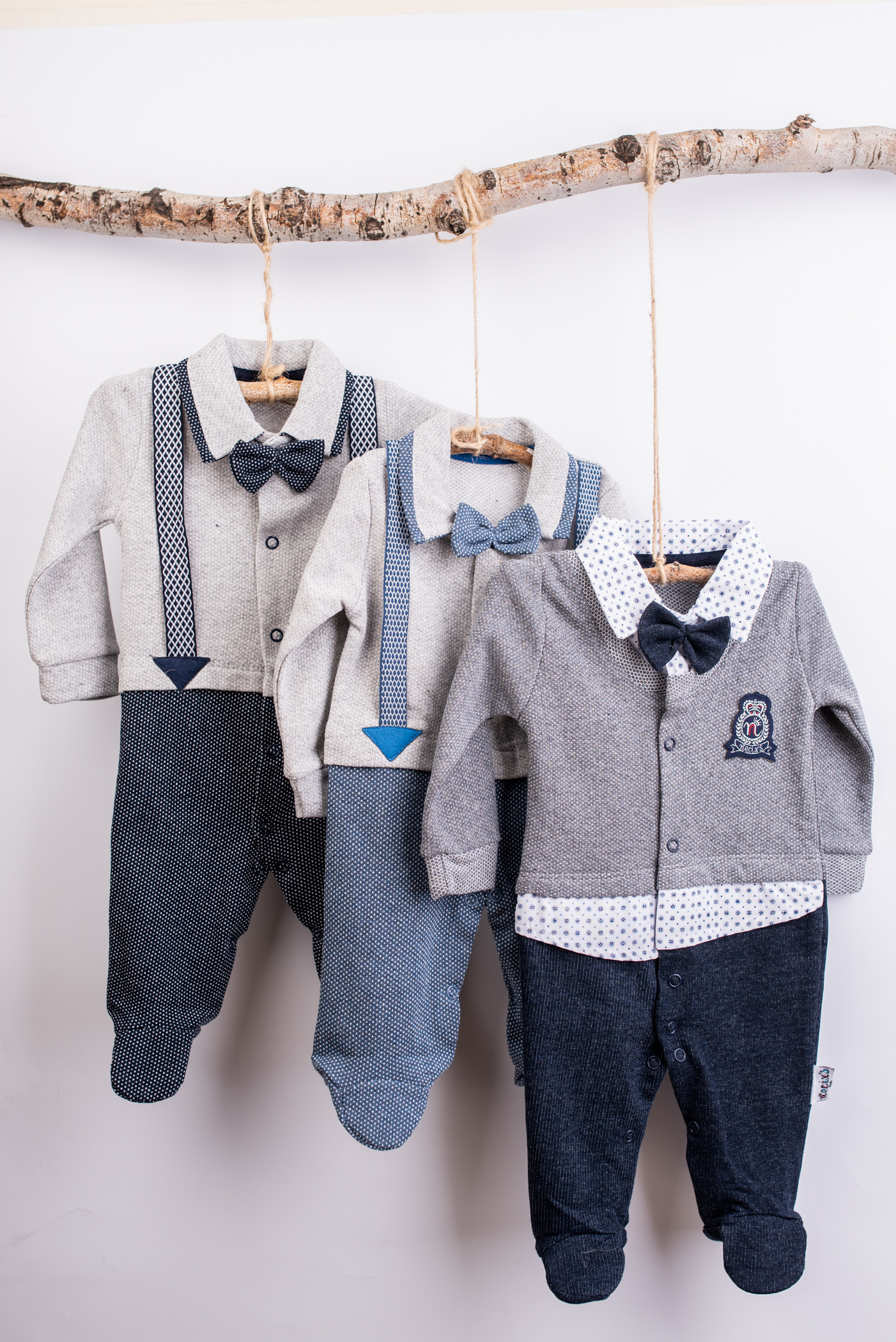 Overalls boy long sleeves