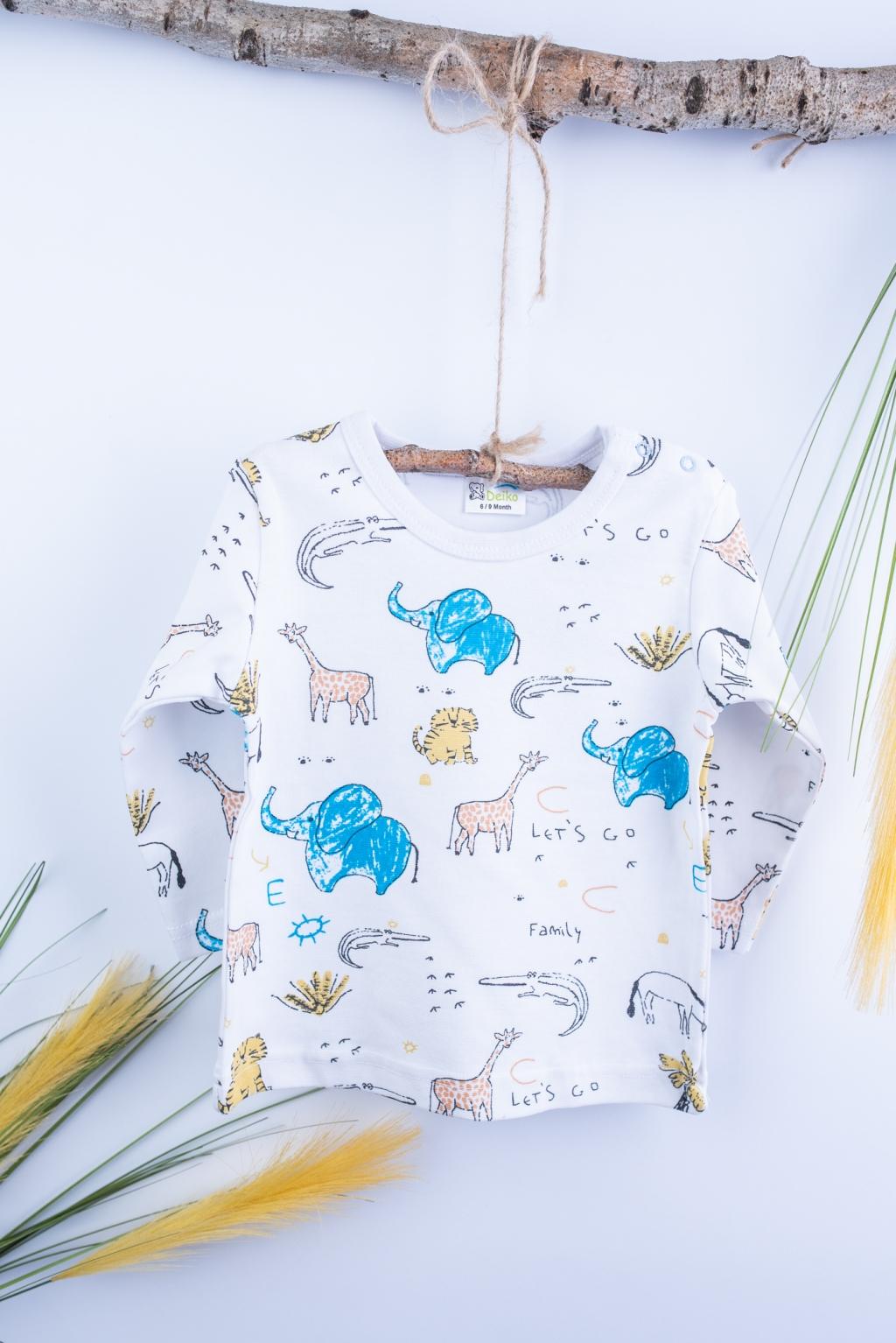 Baby long sleeve blouse
