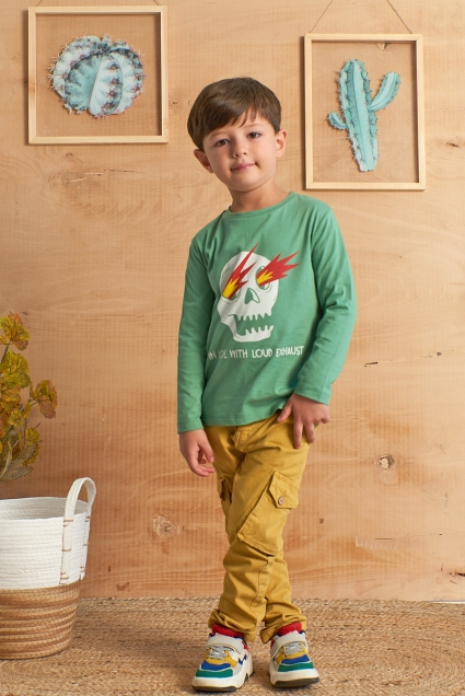 Blouse boy long sleeves