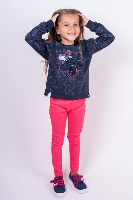 Long sleeve girl blouse