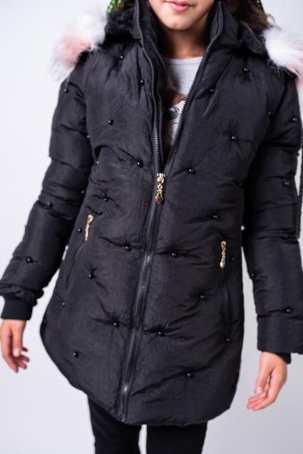 Winter jacket girl