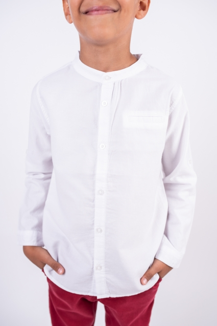 Риза дълъг ръкав момче BTS