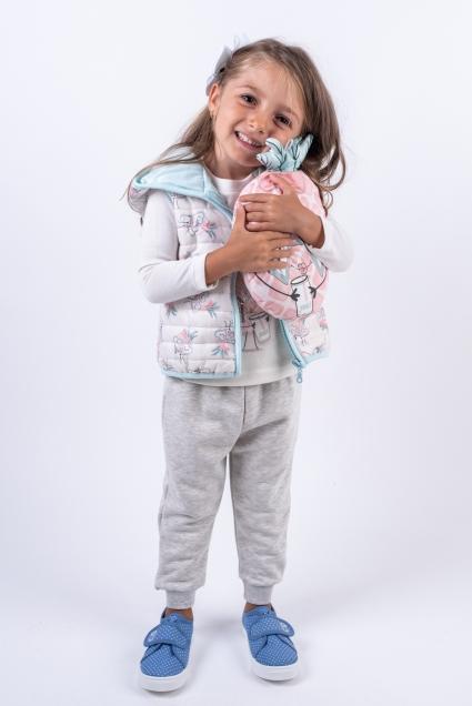 Комплект момиче 4 части дълъг ръкав
