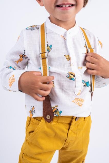Shirt short sleeve boy