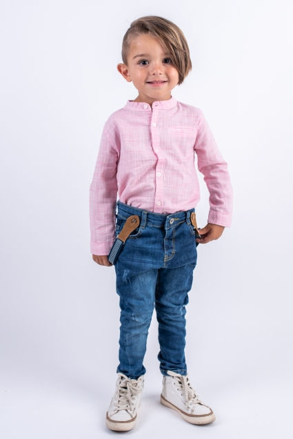 Риза момче дълъг ръкав