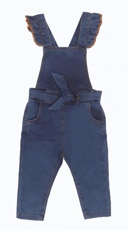 Denim overalls girl
