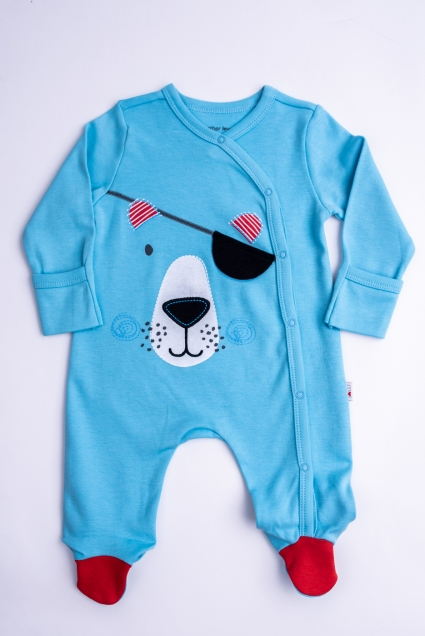 Overalls baby boy long sleeve