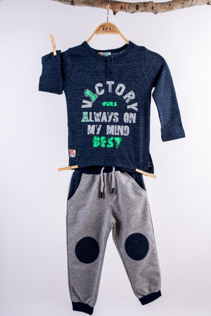 Boy long sleeve set