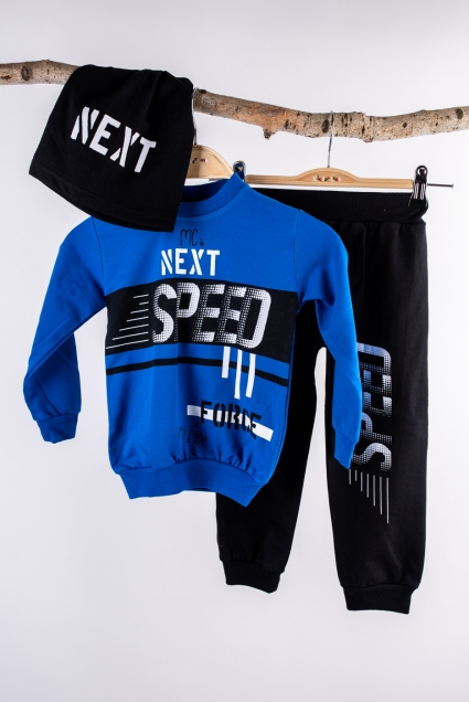 Boy long sleeve set 3 parts