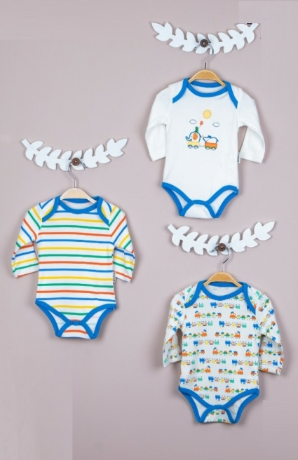 Body long sleeve boy 3 pieces