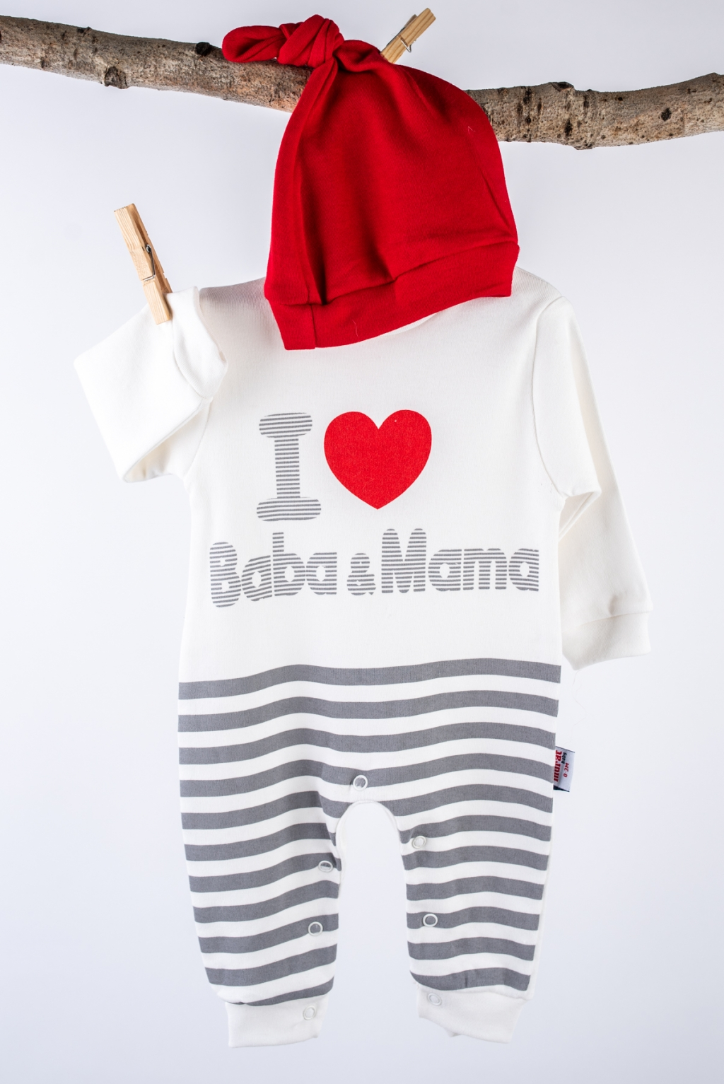Overalls baby long sleeve