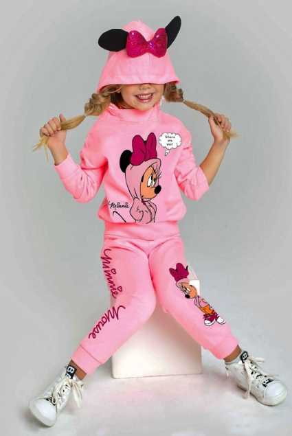 Mickey mouse long sleeve girl set