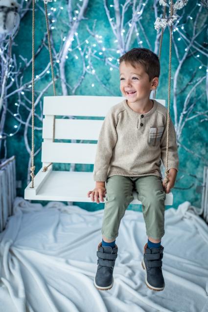 Пуловер момче Коледа