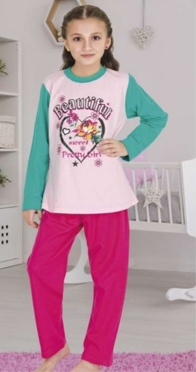Long sleeve boy pajamas