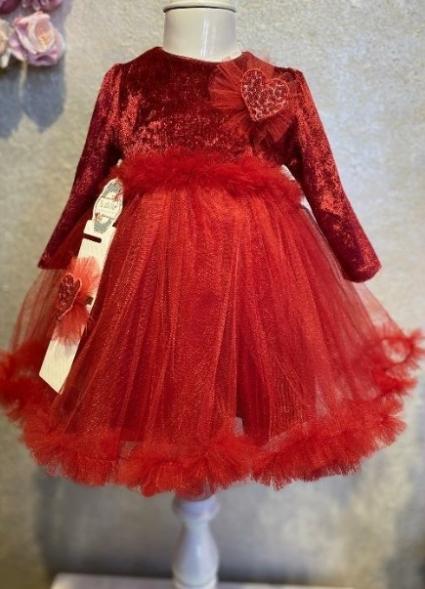 Christmas long sleeve dress