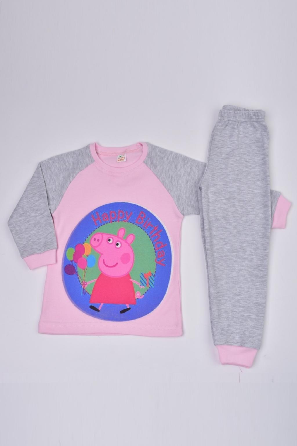 Пижама дълъг ръкав момиче - Peppa Pig