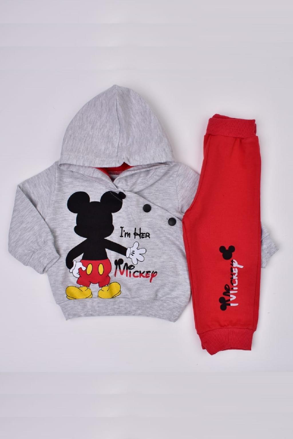 Детски Комплект момче дълъг ръкав Mickey