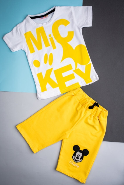 Boy short sleeve set