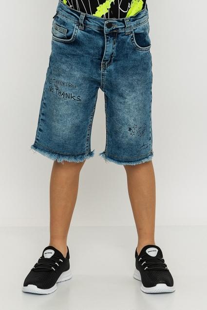 Denim bermuda shorts boy