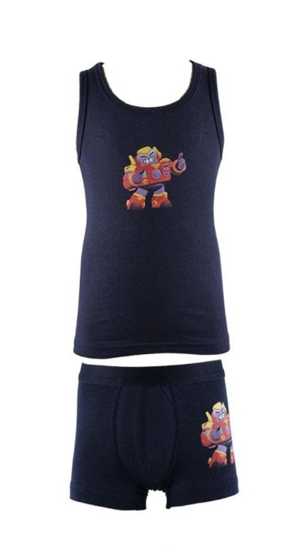 Set of tank top with boxer boy