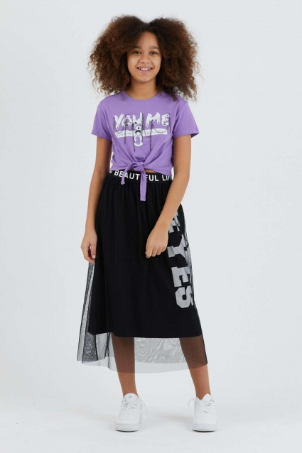 Girl short sleeve set