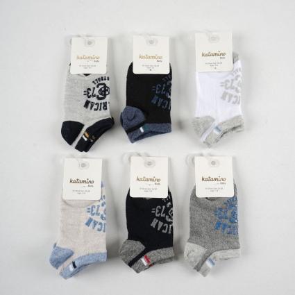 Socks boy 6 pieces