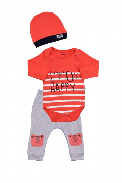 Baby set 3 pieces long sleeve