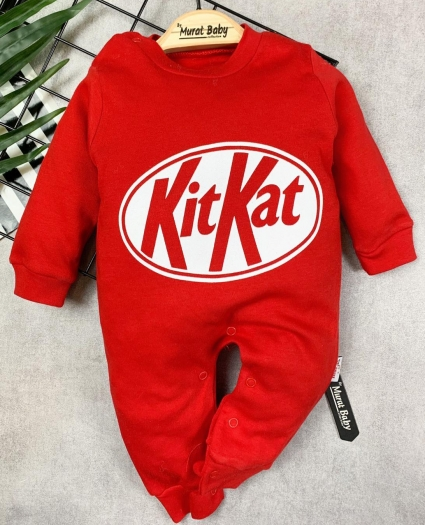 Overalls long sleeve kit kat