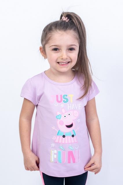 Тениска момиче Пепа Пиг