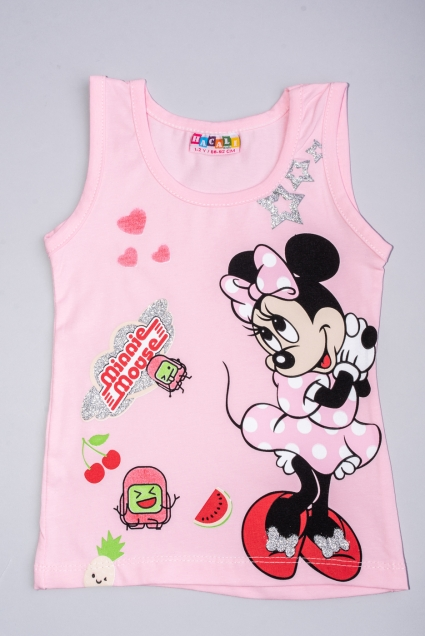 T-shirt girl minnie mouse